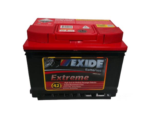 Exide-Extreme XDIN55MF D 2