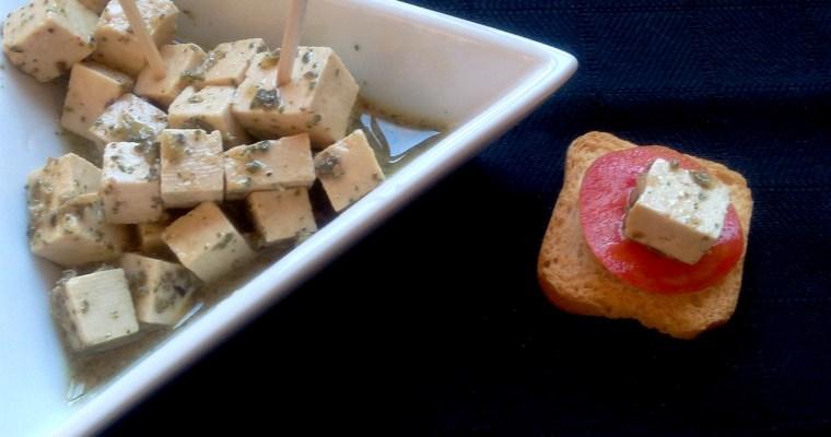 Queijo Feta de Tofu (Receita Vegan)