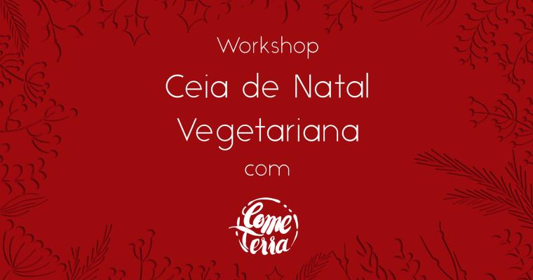 Ceia de Natal Vegetariana – Workshop