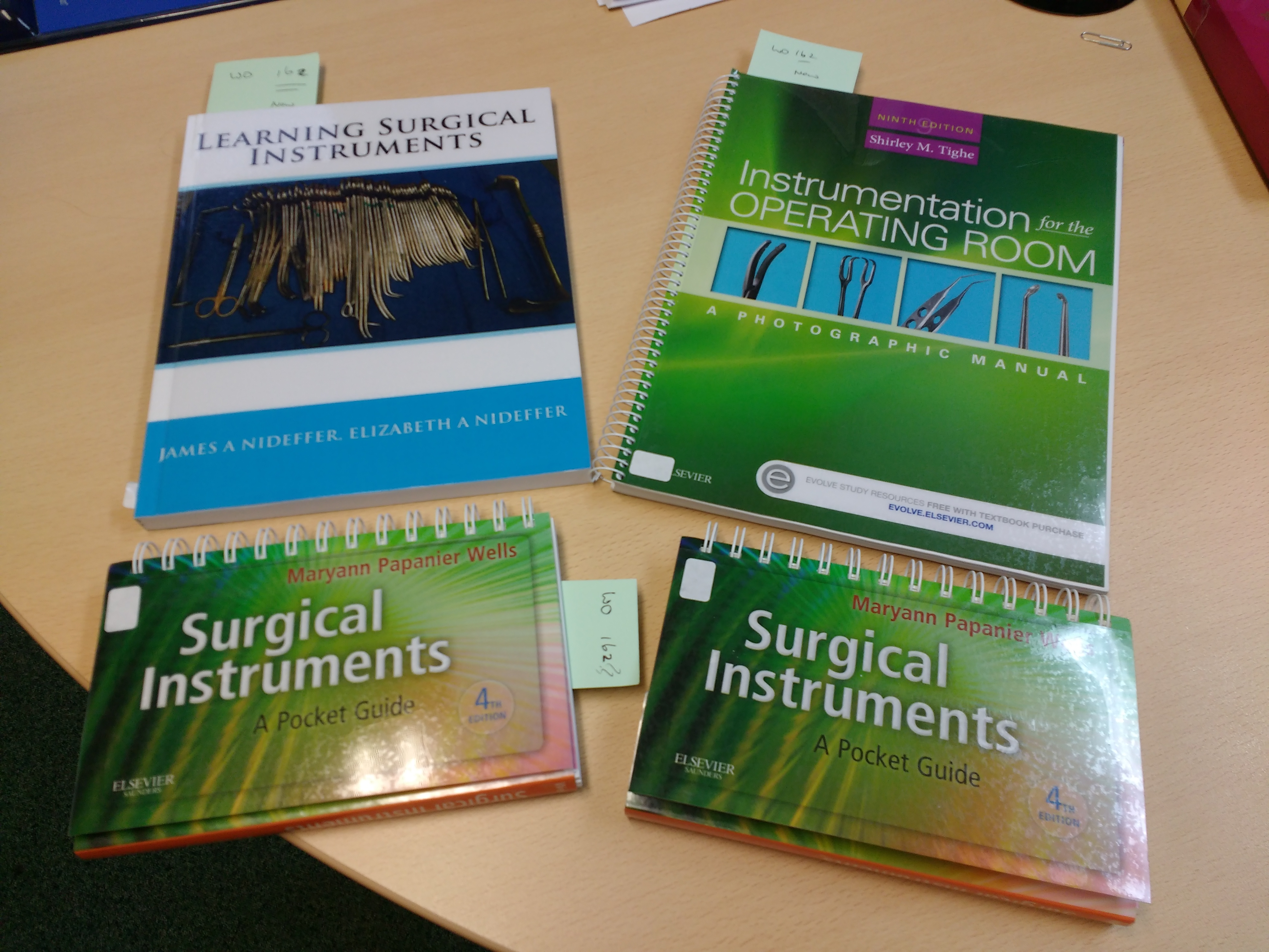Learning Surgical Instruments Comet Library