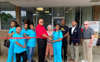 Ribbon Cutting at A New Perspective Coaching Center