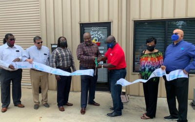 Ribbon Cutting at The Good Lord's Mobile Welding Service