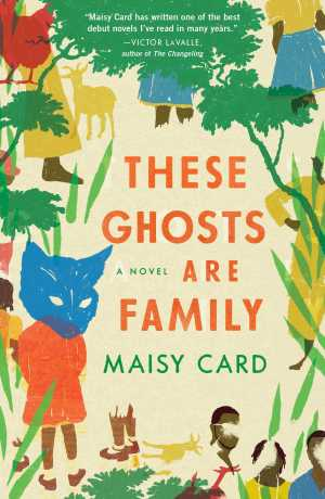 These ghosts are family book cover