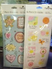 Stickers: $2.00 ea.