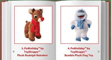 PetHoliday Plush Rudolph Reindeer - Bumble Plush Dog Toy