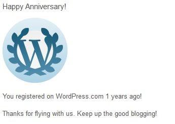 ComeWagAlong.com Blogiversary