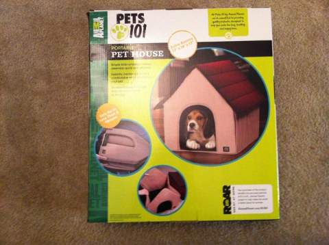 Animal Planet Pets 101 - Portable Pet House