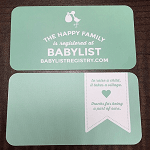 Making a Baby Registry with BabyList