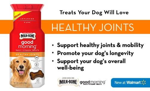 Milk-Bone Good Morning Healthy Joints - ComeWagAlong.com