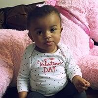 Baby's First Valentine's Day!