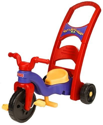 Fisher-Price Rock, Roll 'n Ride Trike - ComeWagAlong.com Holiday Gift Guide for Toddlers