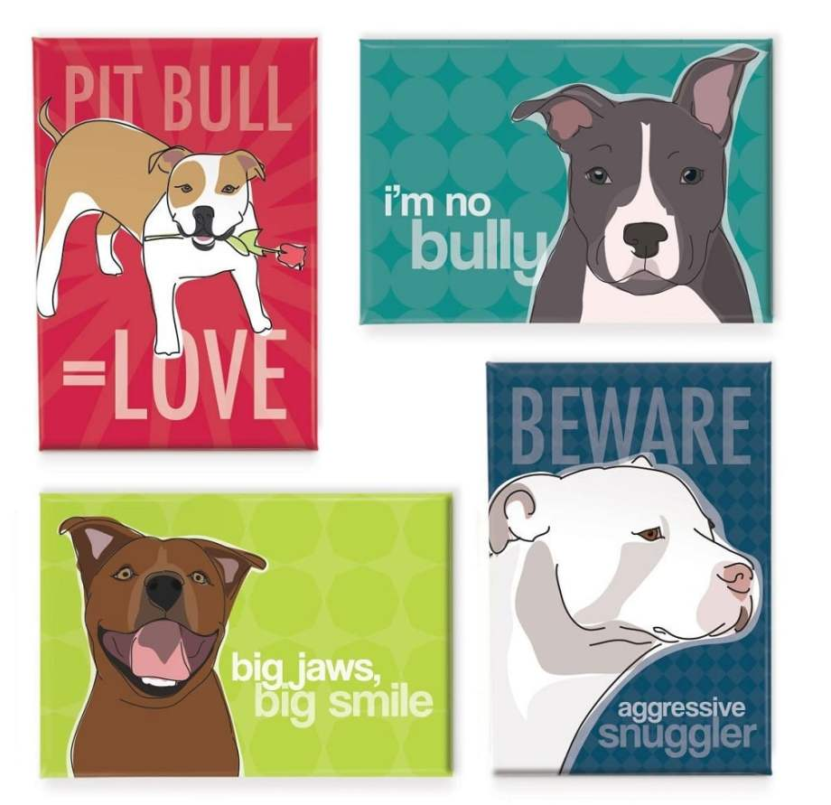 Pop Doggie Refrigerator Magnets & Art - ComeWagAlong.com 2016 Gift Guide for Dogs and Dog Lovers