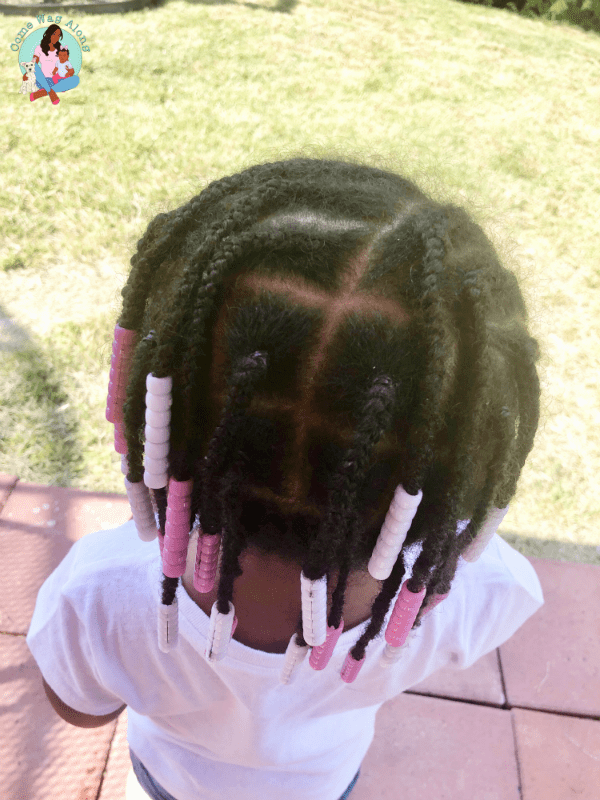 box braids - toddler hairstyles