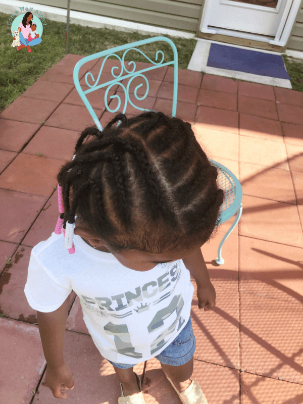 3 Easy Toddler Hairstyles For Natural Hair Come Wag Along