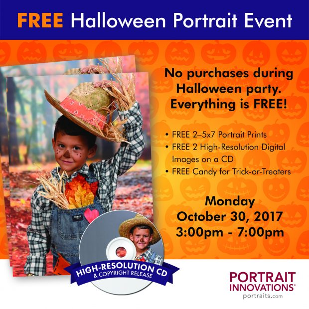 Portrait Innovations Free Halloween Event