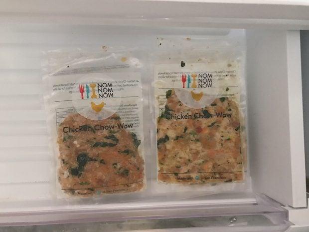 Storing Homemade Dog Food