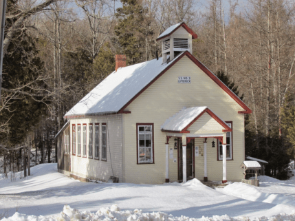 The Old Orsmby Schoolhouse