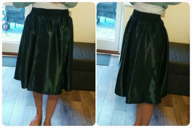 Omsyet nederdel