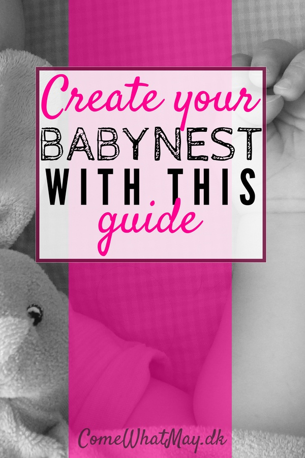 create your own babynest with this DIY guide #babynest #babysleep #DIY