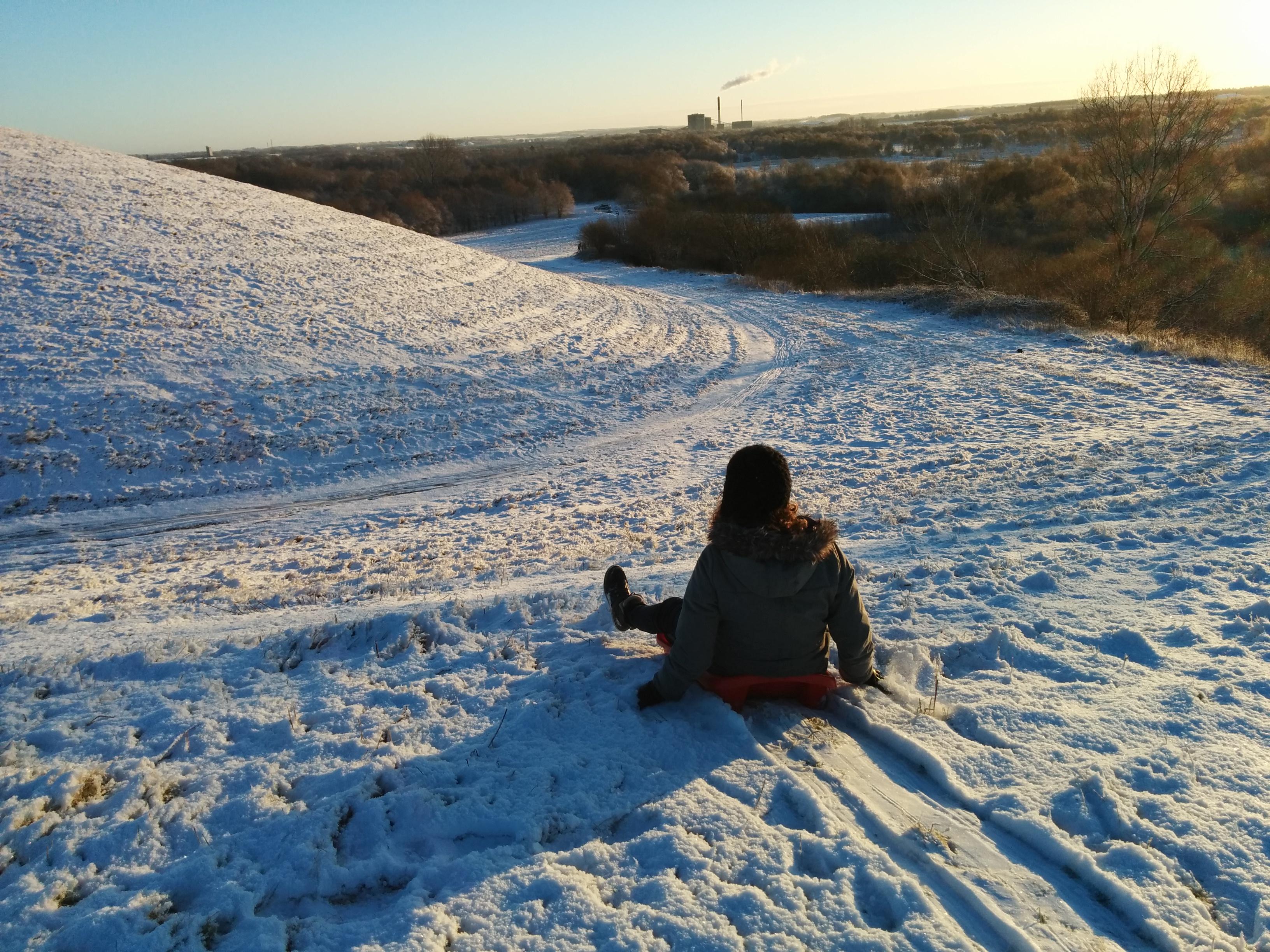 Årets første sne