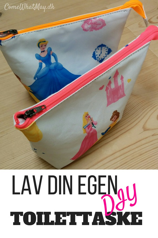 sy din egen simple toilettaske #diy #sy #pouch #toilettaske