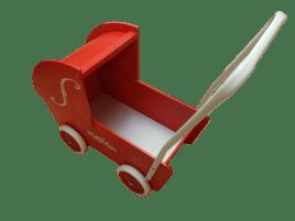 gaver til børn | brugt dukkevogn givet til lillesøster i fødselsdagsgave | sustainable | bæredygtige gaver