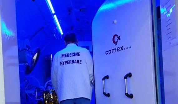 comex partenaire de la medecine hyperbare