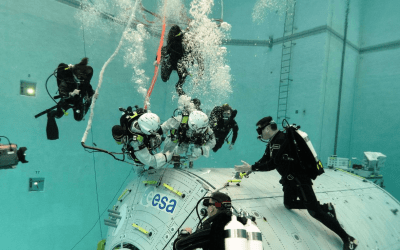 EUROPEAN SPACE AGENCY ASSIGNS COMEX TO SUPPORT THE UNDERWATER TRAINING OF ASTRONAUTS IN COLOGNE