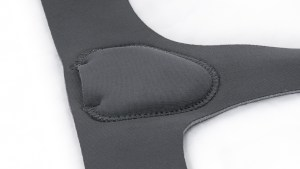 Comfort-Truyss Single Side Hernia Truss Close Up of Flat Pad Support