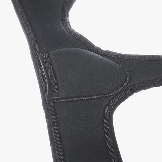 Modified Pad pocket with velcro closure