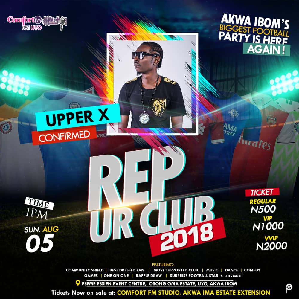 Upper X – Exclusive Phone Call Interview On Comfort 95.1 FM [Rozay X Mighty George 20th July]