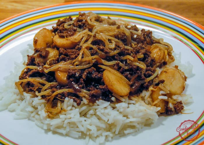 A super simple, easy to make Hamburger Chop Suey recipe.