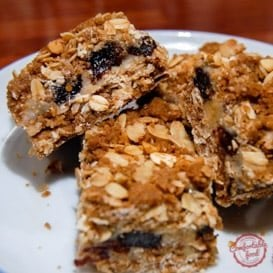 Recipe for triple good bars.