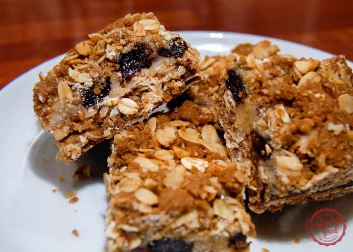 Recipe for triple good bars.