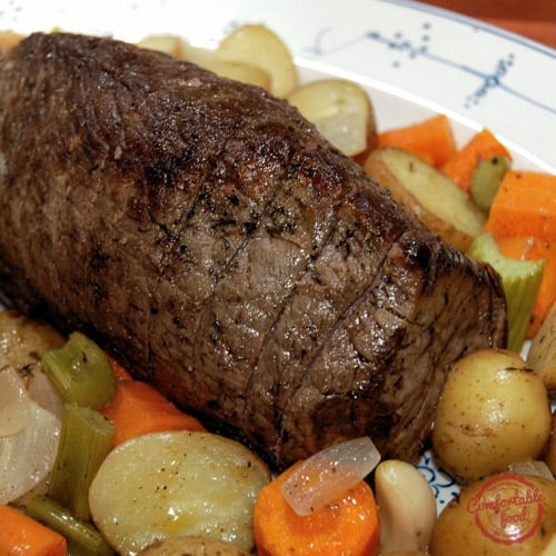 making perfect roast beef is easy.