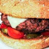 The best veggie burger ever.