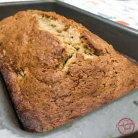 Cream Cheese Banana Nut Bread & Video