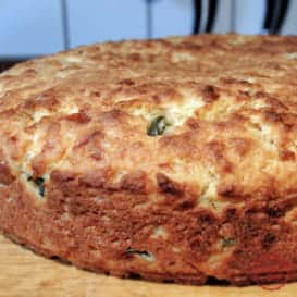 A Jalapeno Cheddar Cornbread Recipe from Comfortable Food.