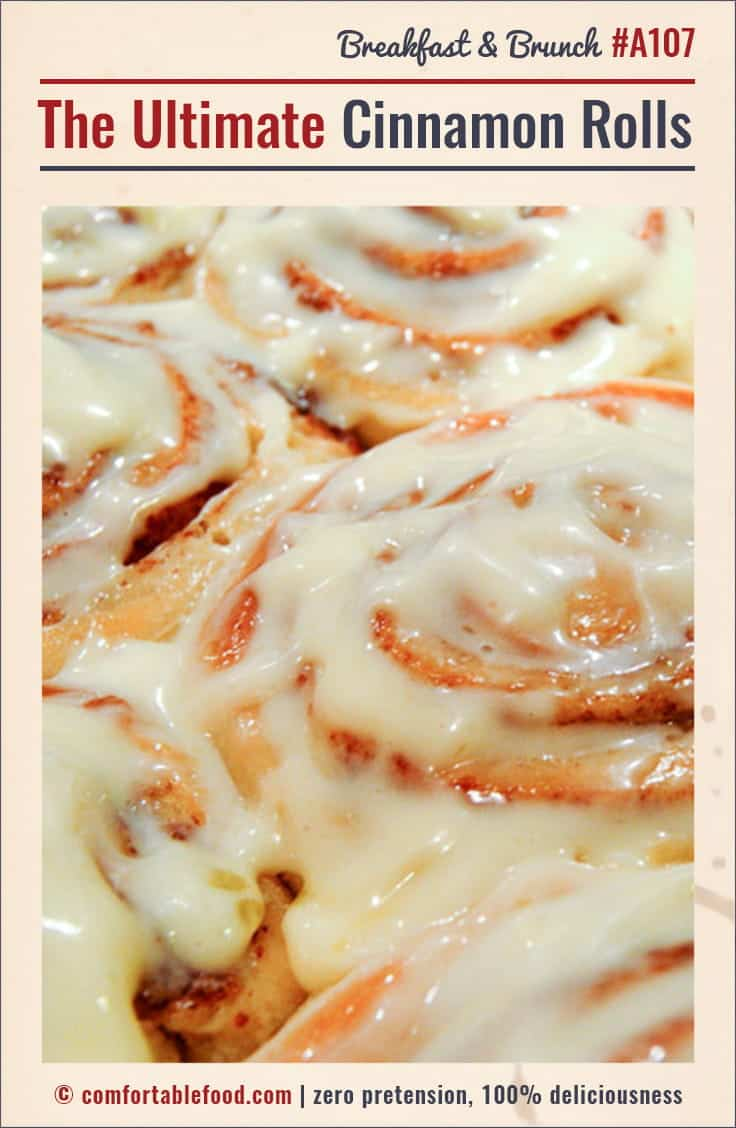 An ooey gooey sweet and delicious cinnamon roll recipe.