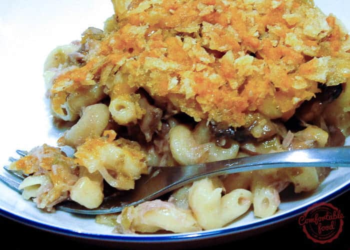 The best Tuna Casserole recipe ever.