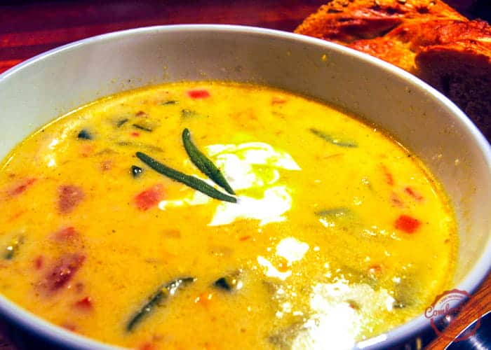 spicy and delicious corn soup recipe