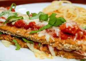 Simple and delicious Eggplant Parmesan recipe.