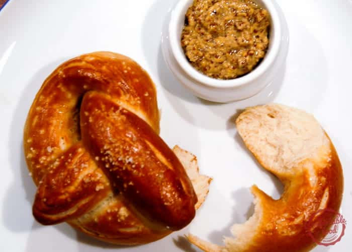 An authentic homemade German pretzel recipe.