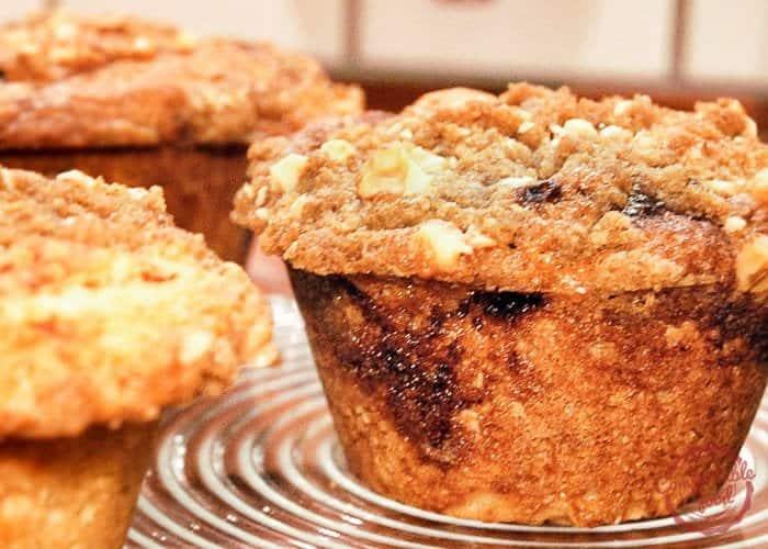 Cinnamon Swirl Sour Cream Coffee Cake Muffins