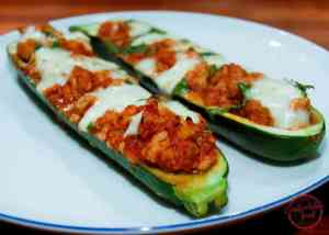 zucchini boats with chicken