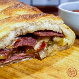 A Stromboli Recipe from Comfortable Food.