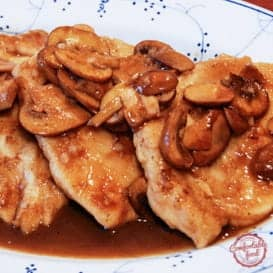 A super tasty Chicken Marsala recipe.