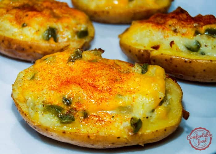 These are the Ultimate Stuffed Twice Baked Potatoes.