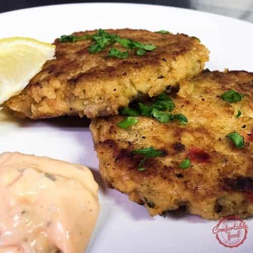 Perfectly delicious salmon patty recipe.
