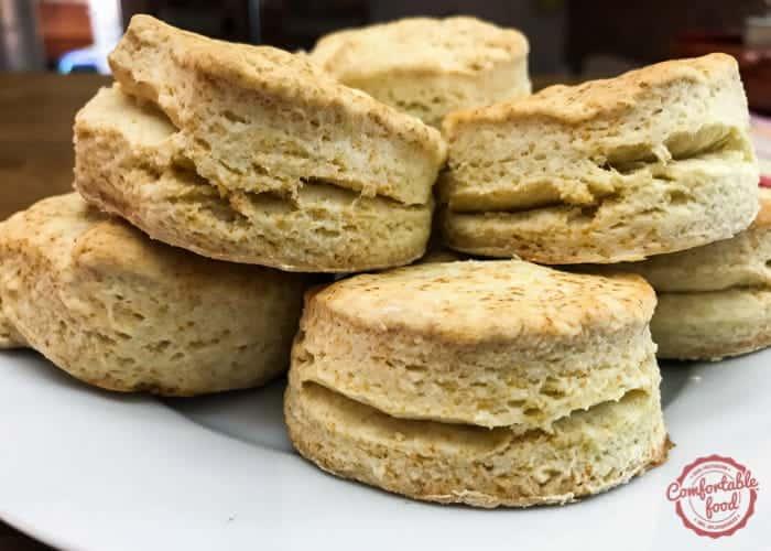 Easy Buttermilk Biscuit Recipe.